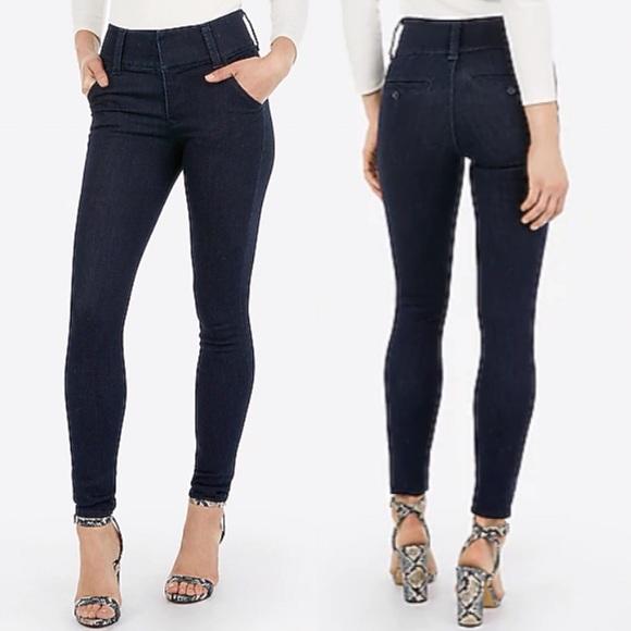 NEW Express Denim Perfect Skinny Legging Jeans 2